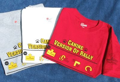 Canine Version of Rally T-Shirts