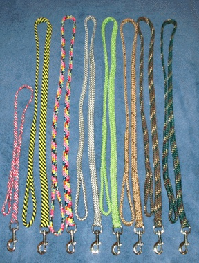 Nylon Flat Braided Leashes