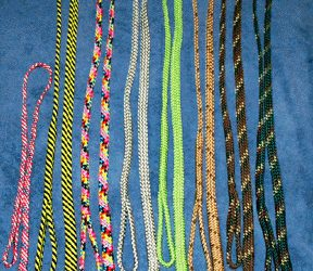 Braided Flat Leashes