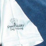 Poochability T-shirt Left Sleeve Logo