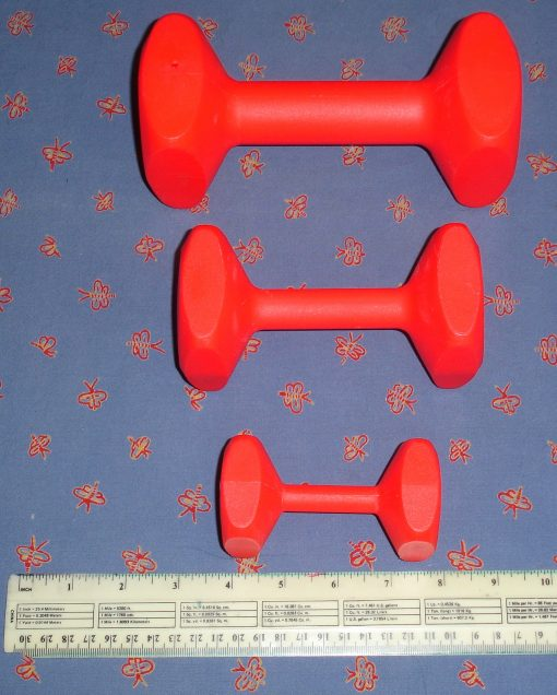 Plastic Floatable Training Dumbbell