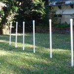 Agility PVC weave poles