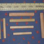 Wooden Dowels for Dumbbell Training